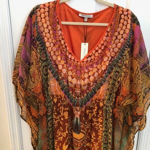 cool tunic dress by Speed Control, size 3X